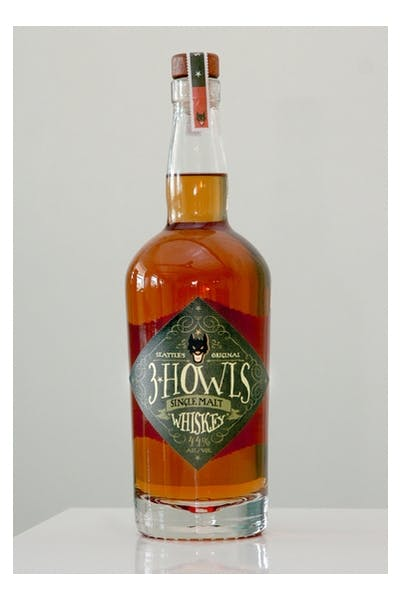 3 Howls Single Malt Whiskey