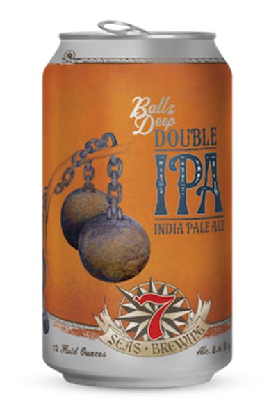 7 Seas Ballz Deep Double IPA