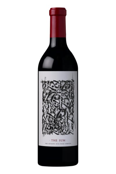 75 Wine Co. The Sum Red Blend
