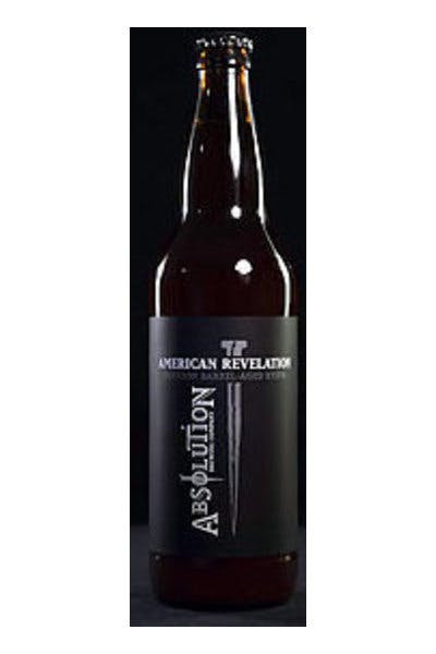 Absolution American Revelation Barrel-Aged RyePA
