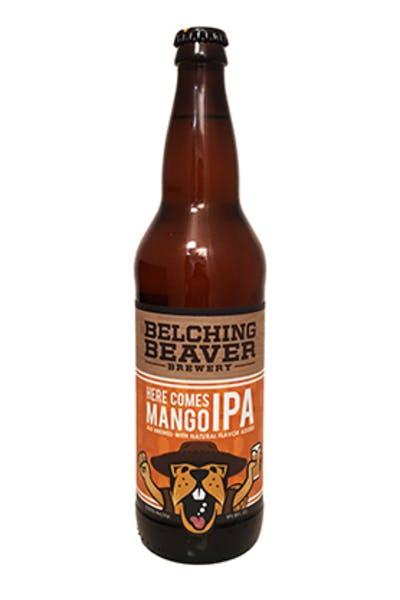 Belching Beaver Here Comes Mango IPA