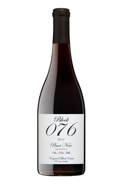Block 076 Santa Rita Hills Pinot Noir
