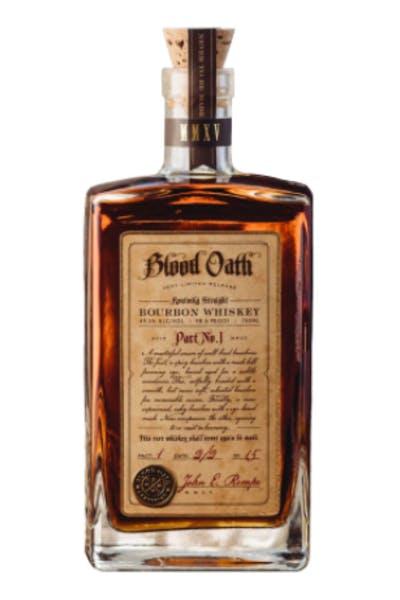 Blood Oath Bourbon Pact No. 1