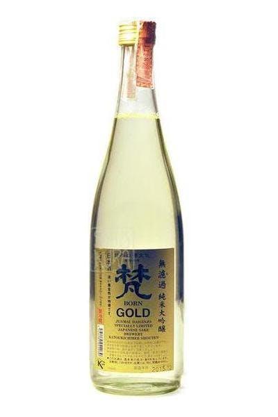 Born Gold Junmai Daiginjo Sake