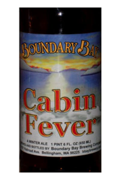 Boundary Bay Cabin Fever Winter Ale