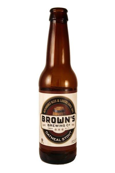 Brown's Oatmeal Stout