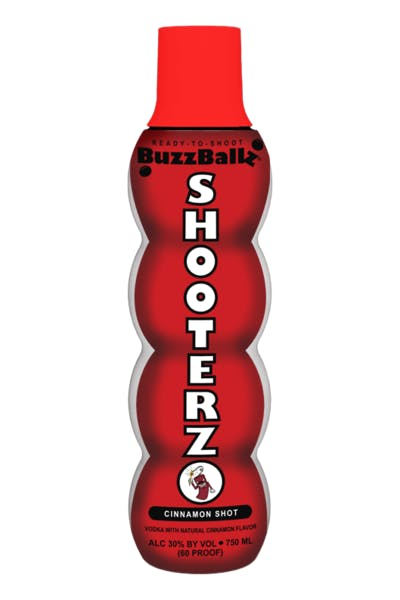 Buzzballz Shooterz Cinnamon Shot