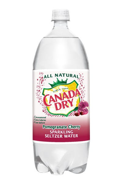 Canada Dry Pomegranate-Cherry Seltzer