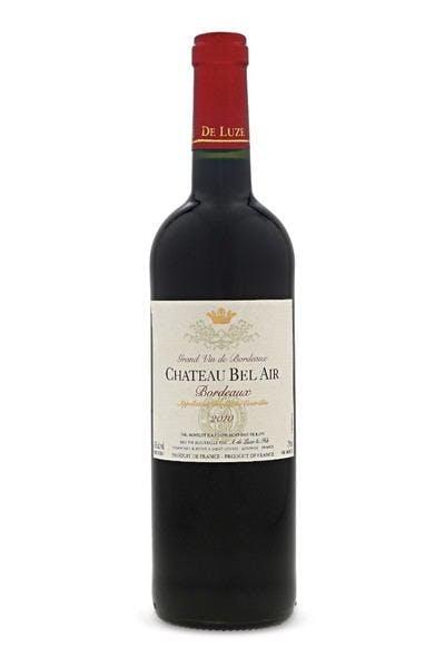Chateau Bel Air Bordeaux 2012