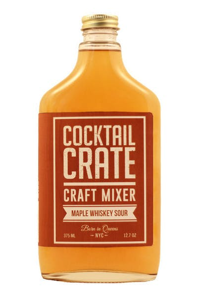 Cocktail Crate Maple Whiskey Sour