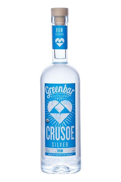 Crusoe Silver Rum from Greenbar Distillery
