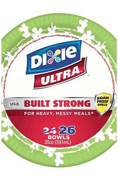 Dixie Ultra Paper Bowls