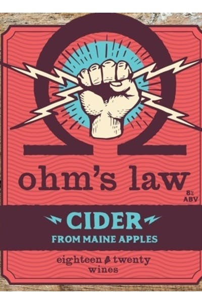 Eighteen Twenty Ohm's Law Hard Cider