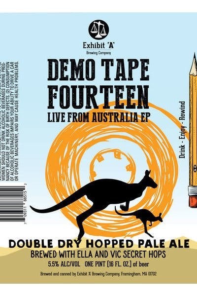 Exhibit A Demo: Tape Fourteen Live From Australia EP
