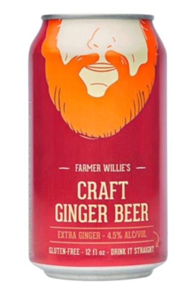 Farmer Willie's Extra Ginger Ginger Beer