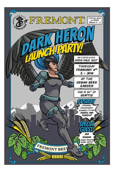 Fremont Dark Heron IPA