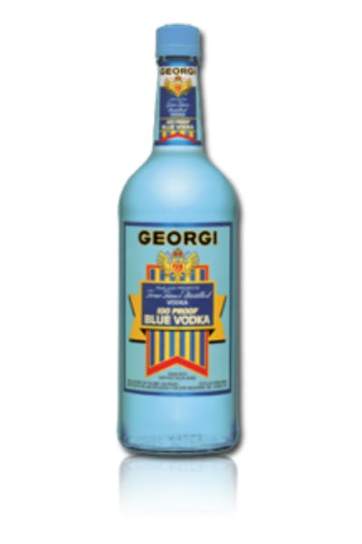 Georgi Blue 100 Proof Vodka