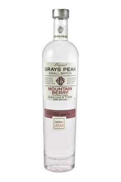 Grays Peak Mountain Berry Vodka