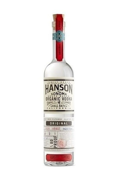 Hanson of Sonoma Organic Vodka Original