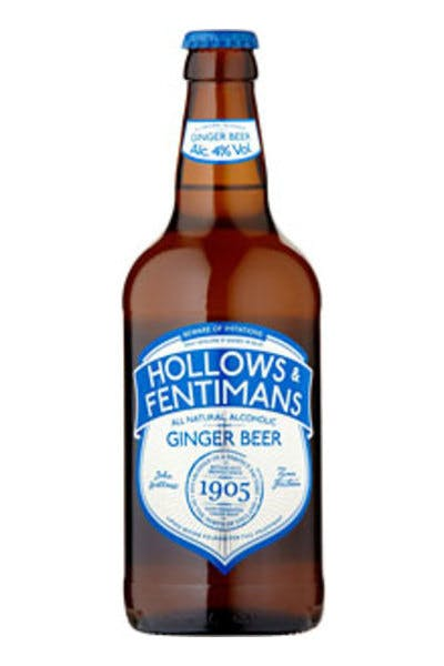 Hollows & Fentimans Alcoholic Ginger Beer