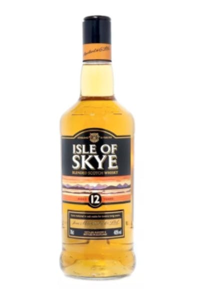 Isle Of Skye Blended Scotch 12 Year