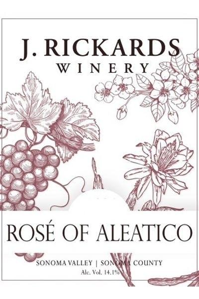 J. Rickards Aleatico Rose