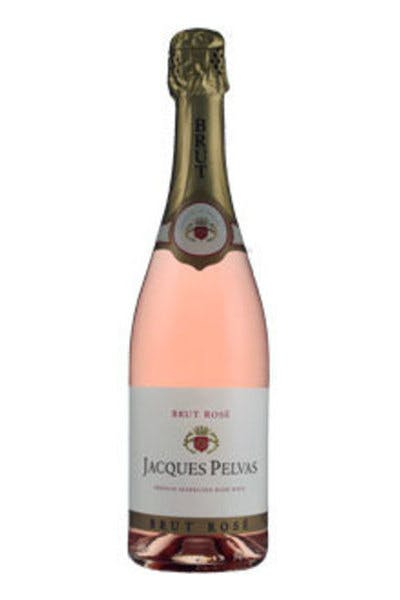 Jacques Pelvas Brut Rose