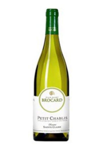 Jean-Marc Brocard Domaine Sainte Claire Petit Chablis