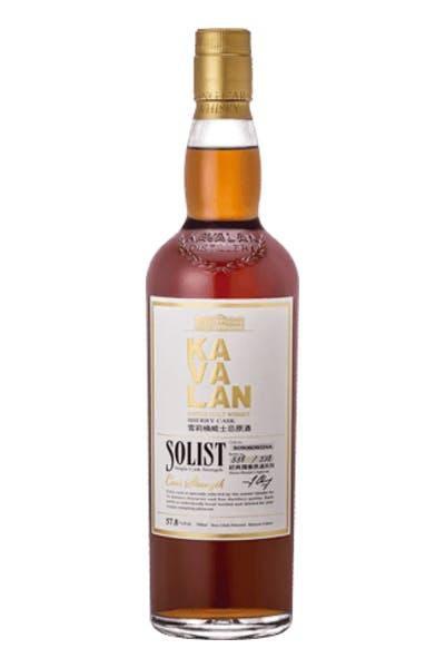 Kavalan Solist Sherry Cask Single Malt Whiskey