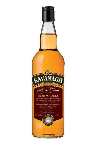 Kavanagh Single Grain Irish Whisky