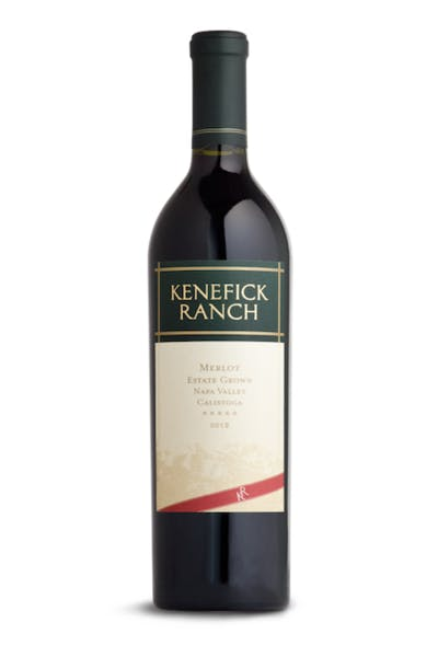Kenefick Ranch Merlot 2012