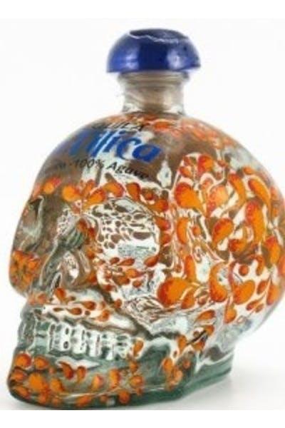 La Tilica Skull Tequila Blanco