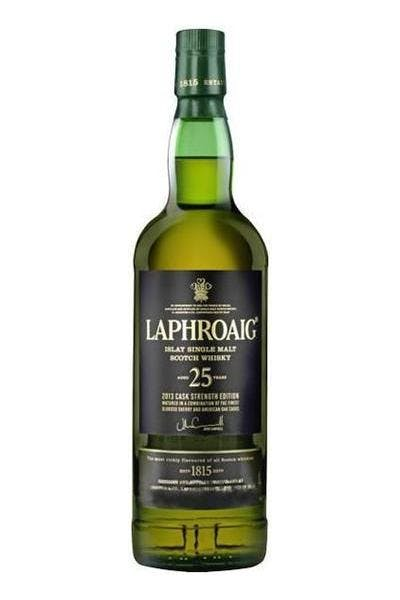Laphroaig Single Malt Cask Strength 25 Year
