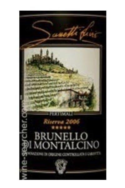 Livio Sassetti Brunello di Montalcino Pertimali Riserva 2010
