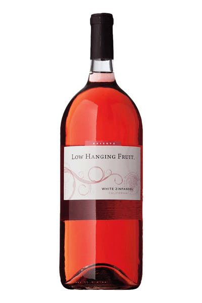 Low Hanging Fruit White Zinfandel