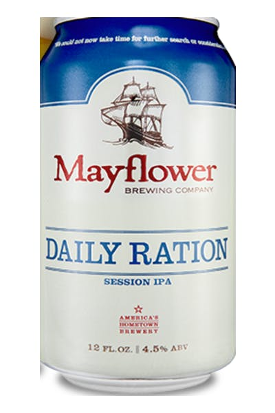 Mayflower Daily Ration