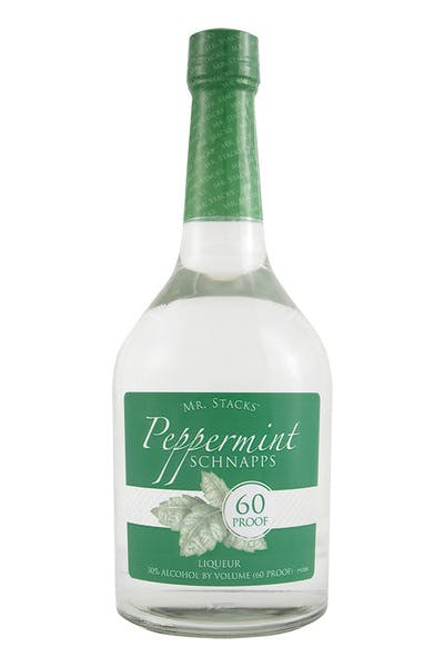 Mr Stacks Peppermint Sch 60 Proof