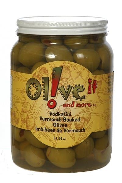 Olive It! Vodkatini Vermouth Soaked Olives