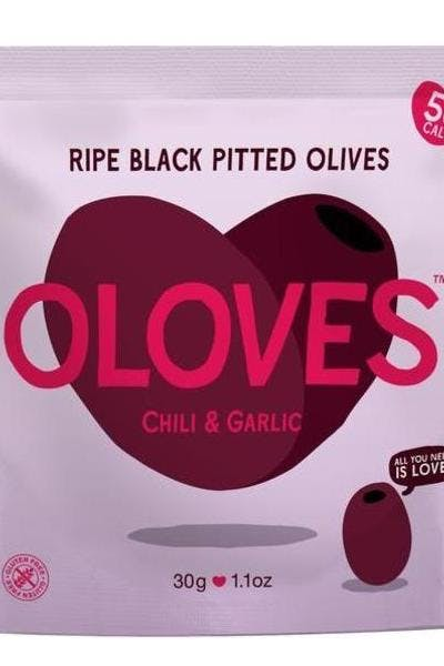 Oloves Chili & Garlic Olive Snacks