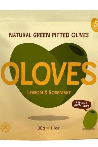 Oloves Lemon & Rosemary Olive Snacks