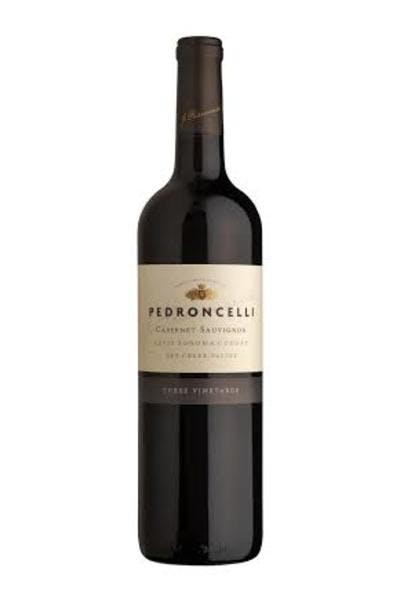 Pedroncelli 3 Vnyd Cabernet Sauvignon 2012