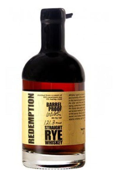 Redemption 7 Year Rye Whiskey