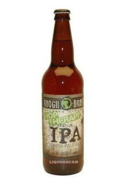 Rough Draft Hop Therapy Double IPA