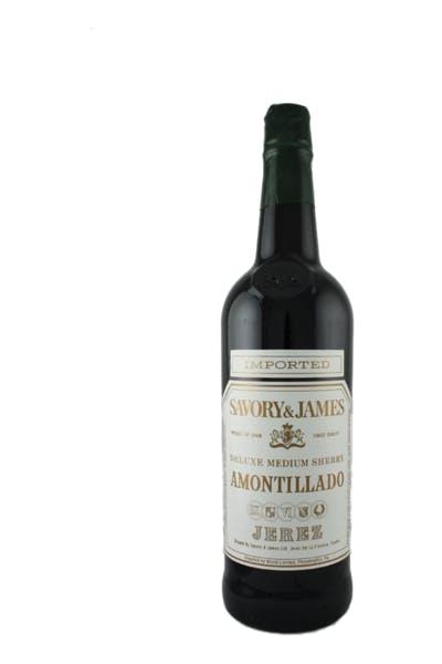 Savory And James Amontillado Sherry