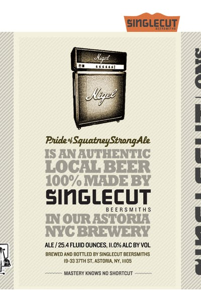 SingleCut Nigel Pride of Squatney Strong Ale