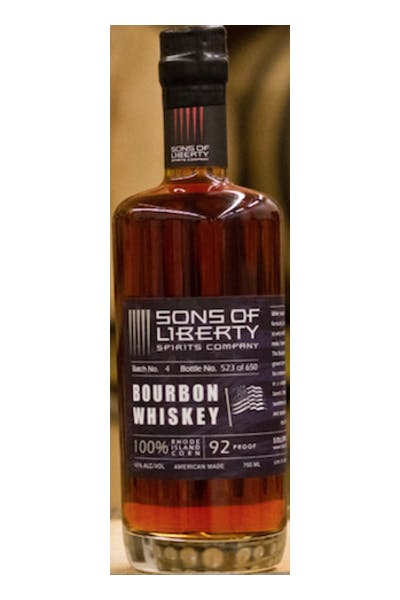Sons Of Liberty Bourbon Whiskey