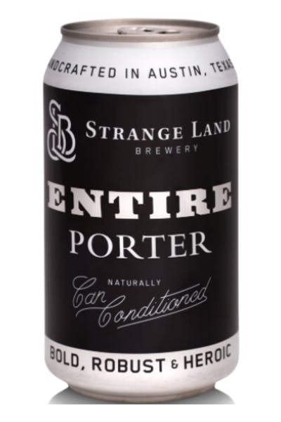 Strange Land Brewing Entire Porter