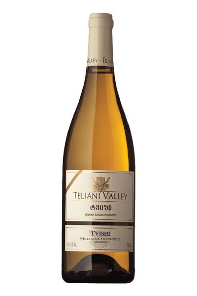 Teliani Valley Tvishi White Semi Sweet