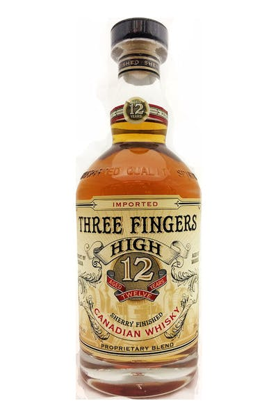 Three Fingers High Canadian Whisky 12 Year