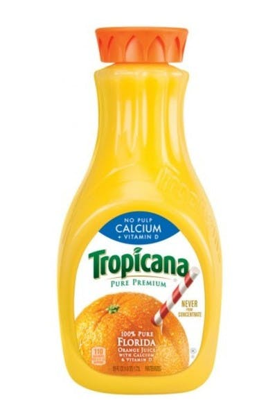 Tropicana Pure Premium Orange Juice (Calcium No Pulp)